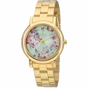 Relógio Feminino Dourado Allora