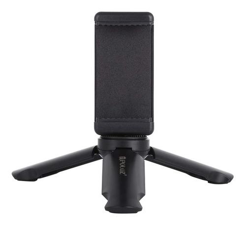 Imagen 1 de 7 de Mini Tripode Con Holder O Sujetador De Telefonos Ajustable