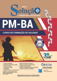 Apostila Pm Ba 2019 Curso Formação Soldado