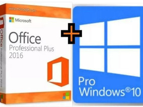 Windows 10 Pro + Office 2016 Pro Original Ativaçao Garantida