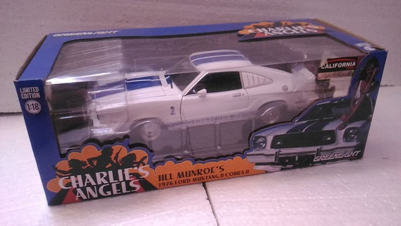 1976 Ford Mustang Charlie´s Angels 1/18 As Panteras Greenlig