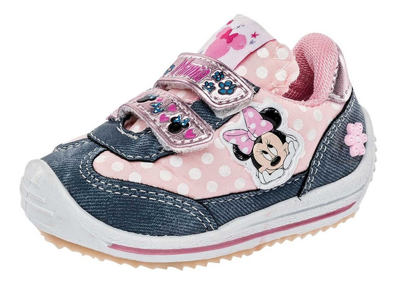 Tenis Niña Lp Minnie Mouse 100129 Tallas 12/16 Sc-oi19
