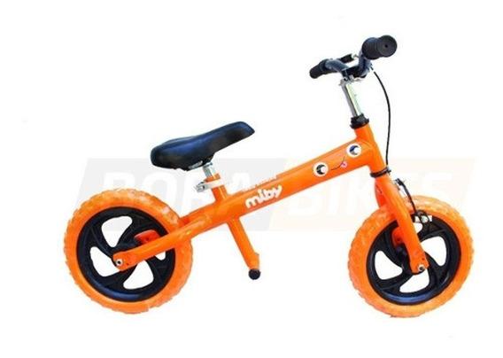 Bicicleta Enrique Rodado 12 Miby Balanceo Sin Pedales