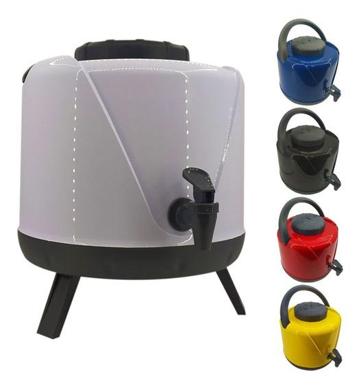 Garrafa Térmica 5 Litros Pezinho Torneira Água Suco Terere