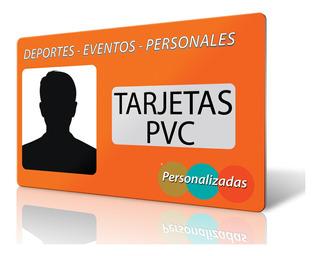 Tarjetas Pvc Personalizadas,carnet Pvc,fiestas,deportes