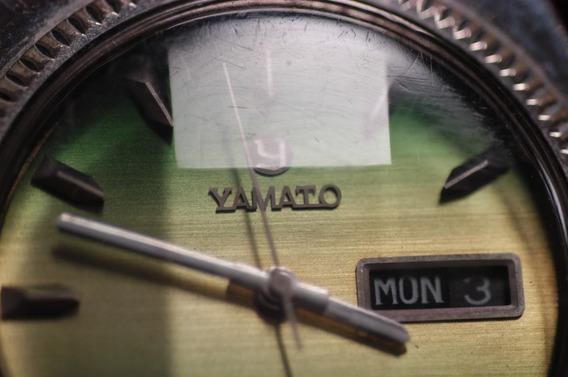 Relógio Yamato, Japonês, Muito Raro, Automático, Bizotado