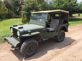 Jeep Willys Cj-2a Impecble Original 95% 1947