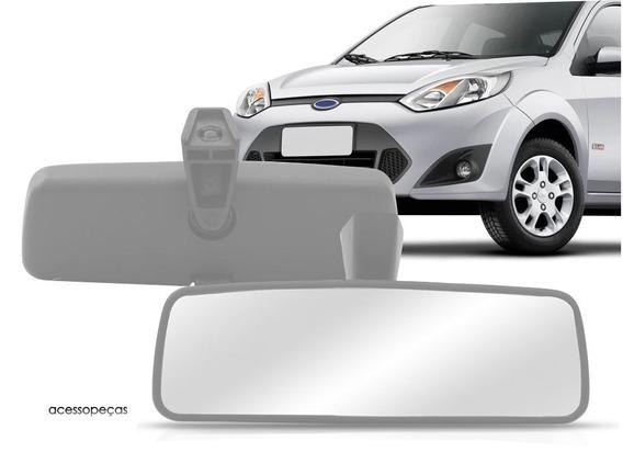 Retrovisor Interno Fiesta Hatch + Câmera De Ré E Tela 3,2