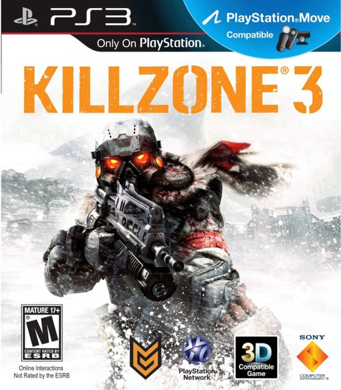 Killzone 3 Ps3 | Mídia Física Original Playgorila