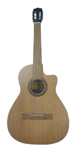 Guitarra Tapa Pino Forro Colgador Pua 2 Años Garantia