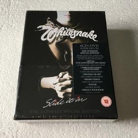 Whitesnake Slide It In 35th Anniversary Box Cd + Dvd 2019