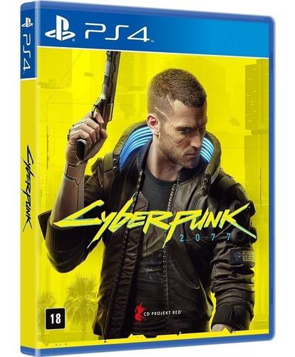 Cyberpunk 2077 Ps4 Mídia Física Lacrado Português  + Nfe