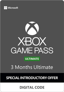 Xbox Game Pass Ultimate (+ Gold) 3 Meses Oferta Especial