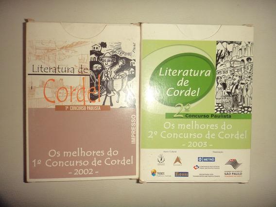Literatura De Cordel Os Melhores De 2002 E 2003 Sao Paulo