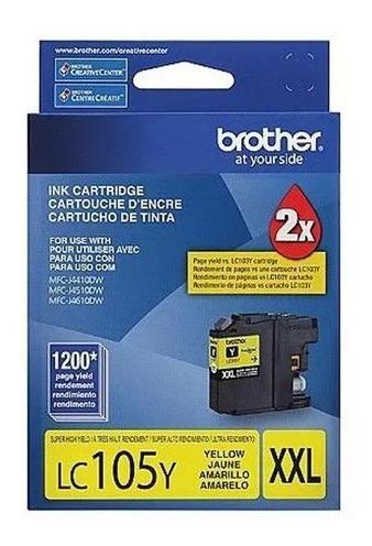 Cartucho Original Brother Lc-105 Yellow 10ml