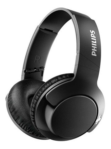 Headphone Philips Shb3175bk/00 Mic Bt Preto