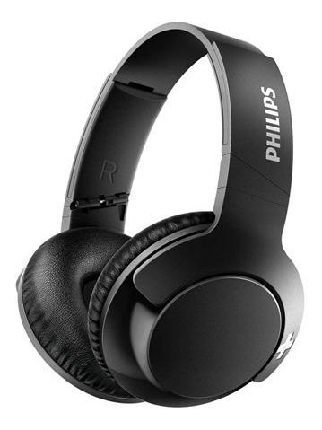 Headphone Philips Shb3175bk/00 Mic Bt Preto