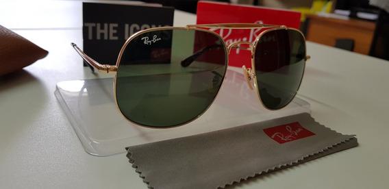 Óculos De Sol Ray-ban Rb3561 General G15 Verde G15 Classica