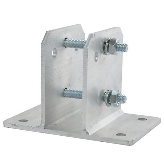 Kit 40 Suportes Em Alumínio Haste Cerca Elétrica