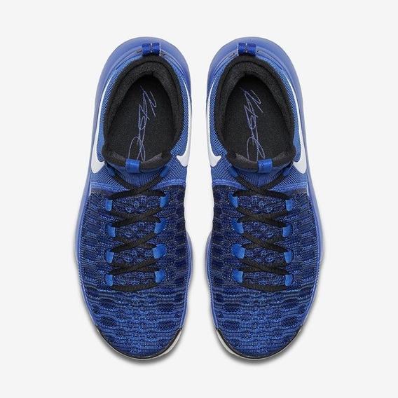 Tenis Nike Zoom Kd 9 Azul Kevin Durant Talla 27 Mx 100% Originales