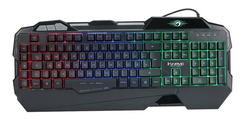 Teclado Marvo Gaming Kg745 Membrana