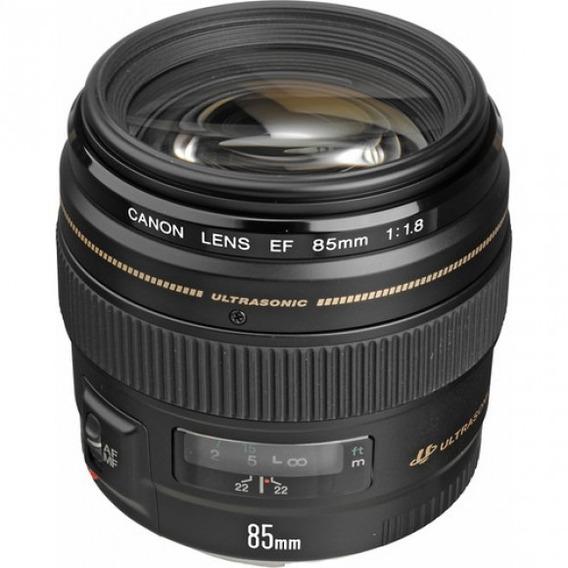 Lente Canon 85mm F1.8 Usm Ef