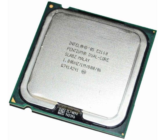 Processador Intel Pentium Dual Core E-2160 1.8ghz Oem Lga
