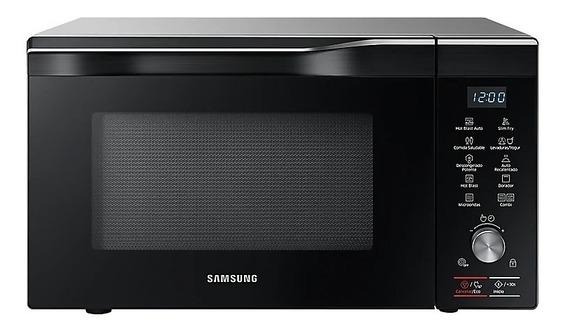 Microondas Samsung 32 Litros Slim Fry Hotblast Grill Smart C