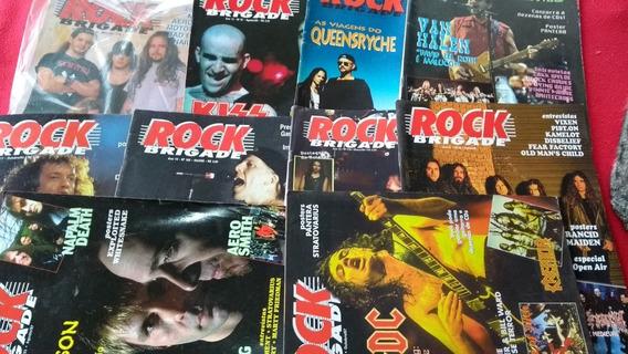 Rock Brigade Dos Anos 13, 14, 15, 16 E 17 Lote 10 Revistas