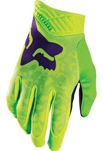 Guantes Ciclismo Bicicleta Moto Dirtpaw Airline Verde Talle L - Racer Bikes
