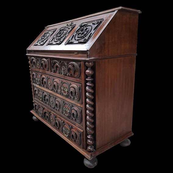 Muebles Antiguos Secreter Principios Sxx ·pieza Única