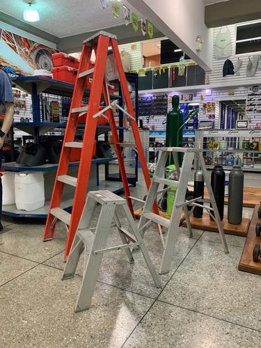 Escaleras De Aluminio - Tijera Y Extensión