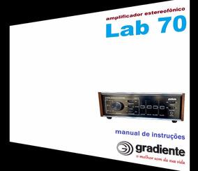 Manual Do Amplificador Gradiente Lab-70 (cópia Colorida)