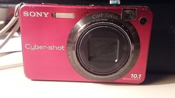 Câmera Digital Sony Carl Zeiss-dsc-w70-10.1 Megapixels