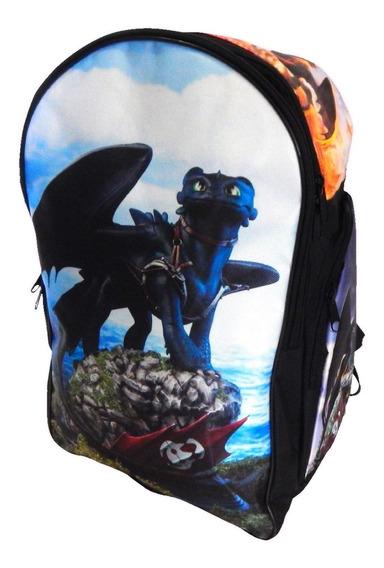 Mochila Como Entrenar Dragon Chimuelo Toothless Envio Gratis