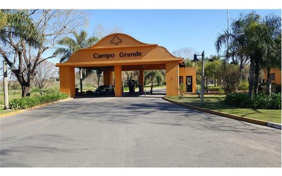 Lote En Campo Grande Con La Mejor Vista Al Golf