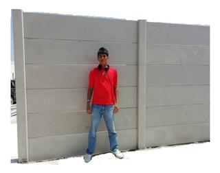 Cercos Concreto Prefabricado. Chiclayo. Cemento