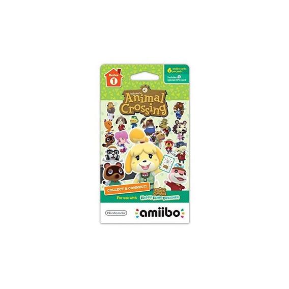 Animal Crossing Series 1 Paquete Individual De 6 Tarjetas