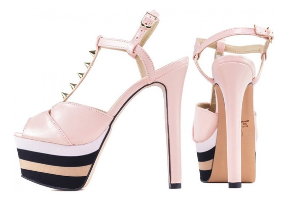 Sandálias Salto Alto Fino Plataforma Torricella Gucci Natal