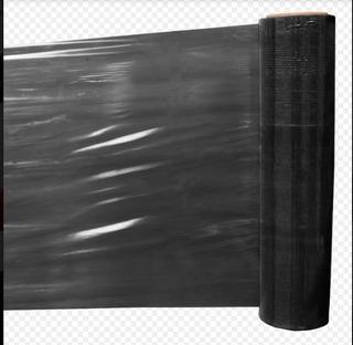 4 Rollos Polystrech Color Negro 20 Inch X 1000 Ft Emplaye