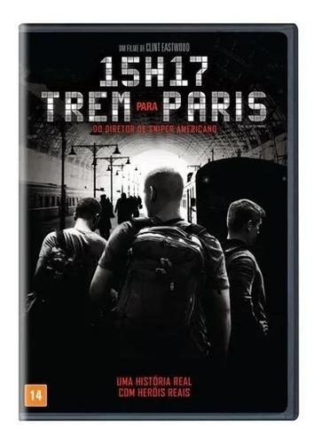 Dvd Filme 15h17 Trem Para Paris Dublado Mercado Livre
