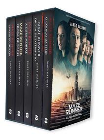 Box Maze Runner 5 Livros Edição Completa + Pôster Exclusivo
