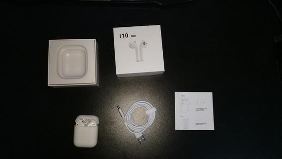 Fone De Ouvido Bluetooth Tws I10 Original