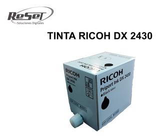 Tinta Ricoh Original Duplicadora Dx 2430 Negra 817222