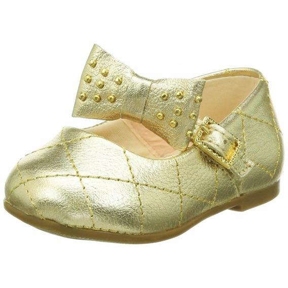 Sapatilha Bibi 459095 - Dourado - Delabela Calçados