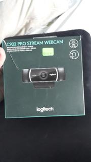 Logitech C922 Pro Stream Webcam Video Full Hd