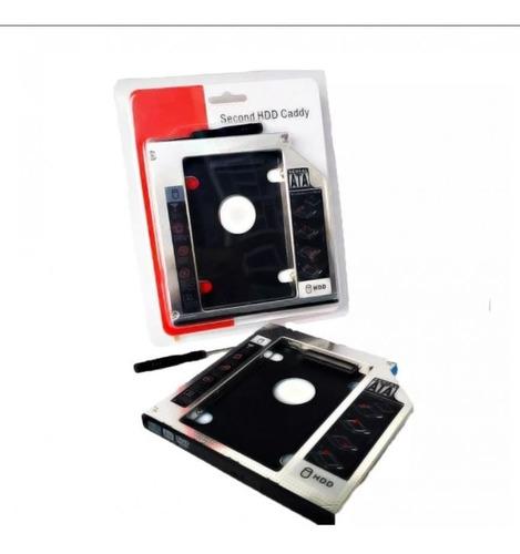 Imagen 1 de 4 de Adaptador Caddy Disco Duro 9.5mm Laptop Unidad Sata