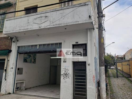 Salão Para Alugar, 170 M² Por R$ 2.990,00/mês - Água Branca - São Paulo/sp - Sl0051