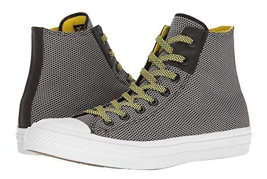 Zapatillas Converse Chuck Taylor Whit Lunarlon Black-yellow