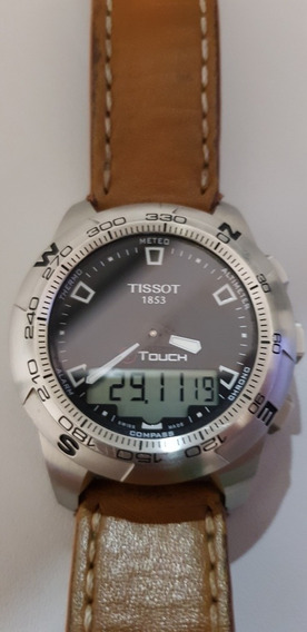 Relógio Tissot T- Touch 2 Com Duas Pulseiras.